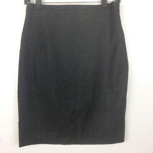 Express Black High Waist Pencil Skirt Size 4
